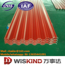 Corrugated Steel Sheet for Roofing Metal with ISO9001 Certificate
