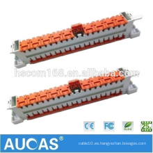 Módulo de herramientas de conexión rápida de 3m de alta velocidad Módulo de 10 pares de módulos 2810 para conexión de cables de teléfono
