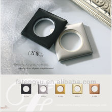 Square Fashionable Plastic Curtain Rings Drapery Ring Curtain Rod