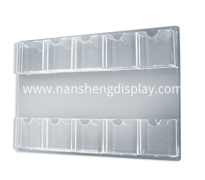 Acrylic Clear Brochure Holder