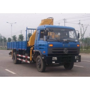 Dongfeng lorry truck with crane for sale