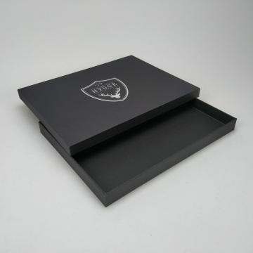 Benutzerdefinierte Tischset schwarze Geschenkbox Verpackung für Tischsets