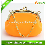 China Wholesale Market Agents high quality silicone purses,hot selling silicone coin wallet/silicone coin purse