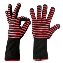 TEJ02 Bon cadeau cuisine gants de barbecue, gants de grillades résistant à la chaleur 932f pour la cuisson au four