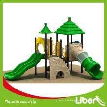 Deux plates-formes House Roof Mini Park Playsets en plastique pour Shcool Enfants et étudiants