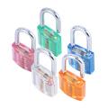 30# Transparent Luggage Bag Decoration Padlock/Drawer Padlock
