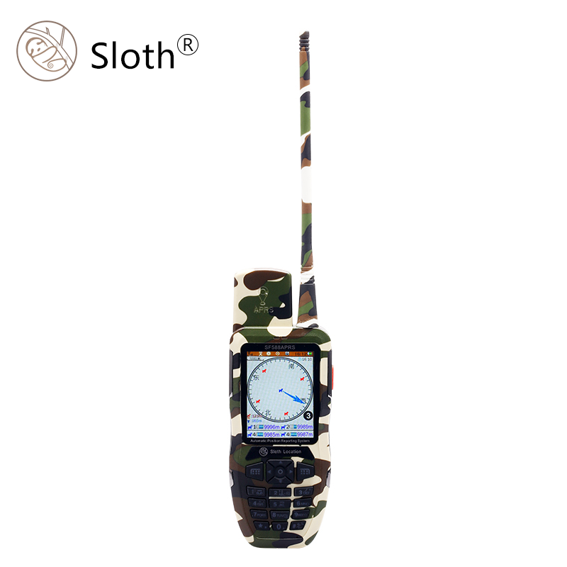 UHF Waterproof GPS 2-Way Radios Interphone Intercom