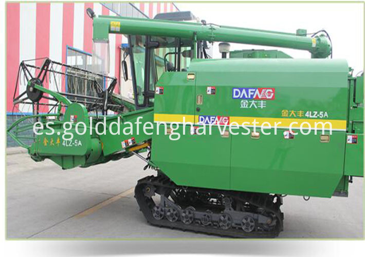 Self-propelled Full Feed Rice Combine Harvester-chssis