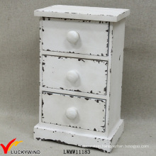 Wholesale Cream Antique Wooden Chest of Drawers Spice Box