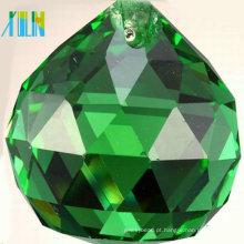 Grandes bolas de cristal decorativas