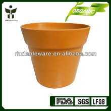 Macetas de fibra de bambú biodegradables
