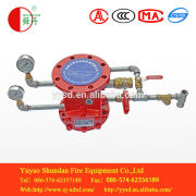 4/6 inch wet alarm valve and fire control pressure switch