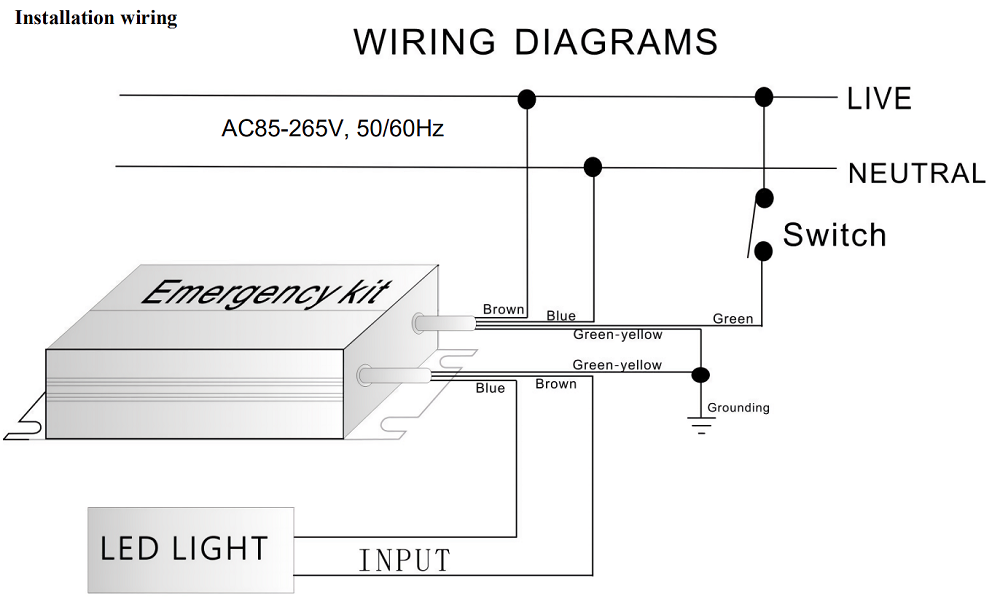 E100 Wiring Diagrams