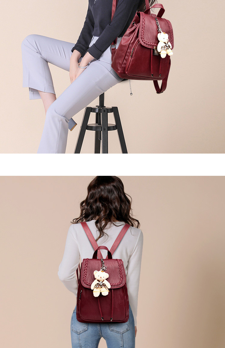 lady double shoulder bags s1816 (8)