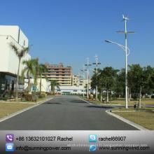 Système d'éclairage solaire hybride puissance alimentation rue de vent / (éclairage LED)