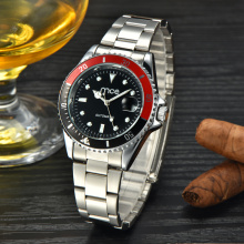 Branded full steel wrist watch for men