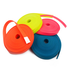 Colorful PVC Waterproof Plastic Coated Nylon Webbing Straps