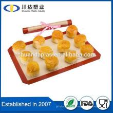 FDA reutilizables Aniti antideslizante no Stick de silicona de albañilería alfombra alibaba cn hornear silicona