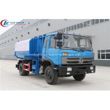 HOT Dongfeng CUMMINS 170hp 12cbm camión de basura
