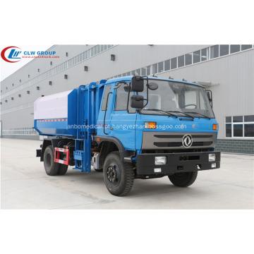 Caminhão de lixo de lixo HOT Dongfeng CUMMINS 170hp 12cbm