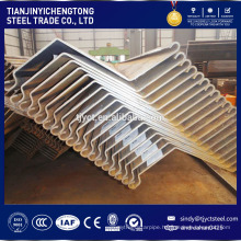 SY295 SY390 sheet piling prices Z type