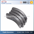 14 Years Experience! Customized tile shaped Arc type Ferrite Magnet with high magnetic for motor