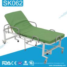 Lit pliant patient clinique de clinique de l'hôpital SK062