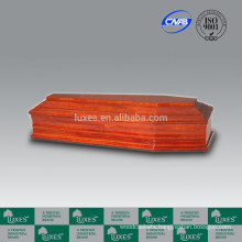 LUXES German Style Wooden Coffins European Coffins For Funeral