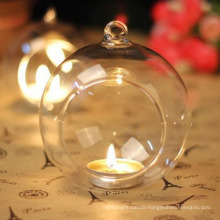 Artdragon wholesale DIY globe glass hanging terrarium candle holder for home decoration