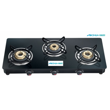 Marvel Glass Top Gas Tables 3 Burners