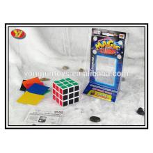 Plastic material Magic Cubes Type magic speed puzzle cube
