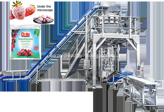Frozen Fruit Packaging Machine Png