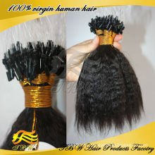 Großhandelspreis Top Qualität Remy Menschliche Mikroschleife Haarverlängerungen