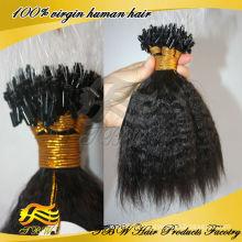 Prix de gros Top Qualité Remy Humaine Micro Boucles Cheveux Extentions