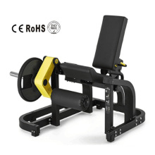 Máquina de extensión de pierna cargada con placa de fuerza Hammer