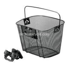 Black Quick Release Bicycle Basket