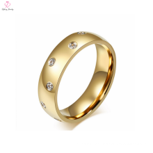 2 Gram Gold crystal wedding men's ring for men