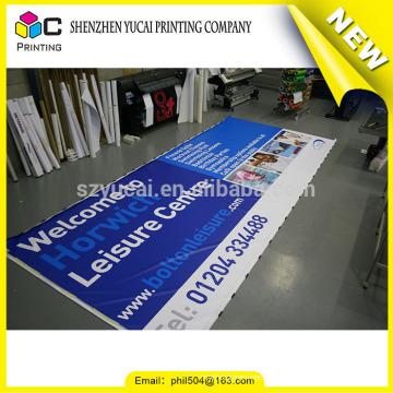 Panneau suspendu suspendu Bannière promotionnelle à bas prix, affiches bannières publicités numériques