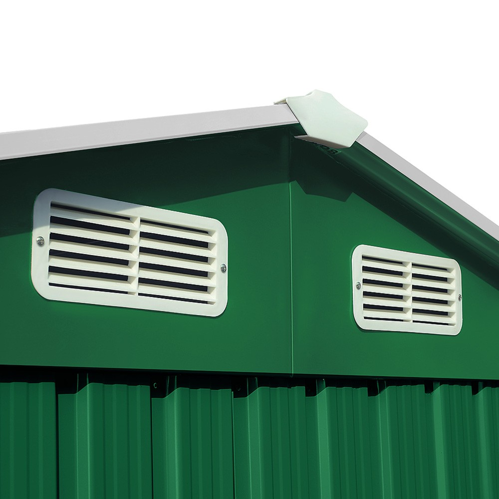 Apex Metal Shed