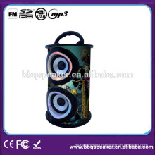 Fast Forward and Rewind a Song Wooden Speaker with Display for Computer/ MP3/ MP4 / Mobile