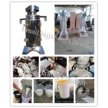 Centrifugeuse tubulaire pour la séparation d'huile de noix de coco vierge