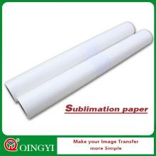 QingYi mais popular papel de sublimação de tinta