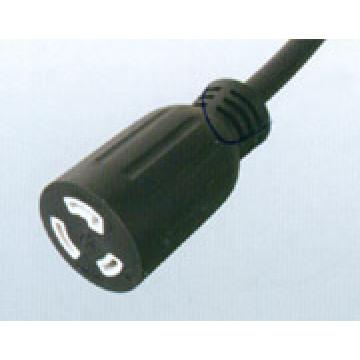 USA UL Lock Extension Cord
