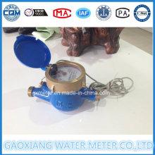 Medidores de agua de lectura directa con salida de impulsos