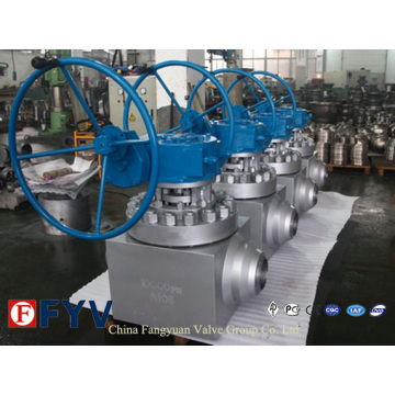 API6a Ball Valve for Well-Head and Christmas Tree