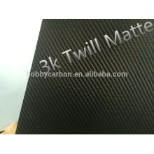Coupe de carbone de 2mm 3mm 4mm cnc pour des pièces de drones, pièces de jouet, feuille faite sur commande de fibre de carbone de cnc feuille de fibre de carbone brillante de 3K twill