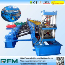 fast guardrail machine
