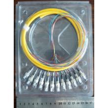 12 Core FC fibre optique Pigtail