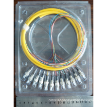 12 Core FC Fiber Optic Pigtail