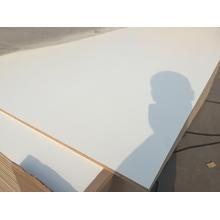 White Color Furniture Grade Melamine Faced Plywood with Poplar Core
